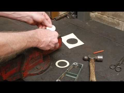How to make an engine or machine gasket - the quick and accurate way