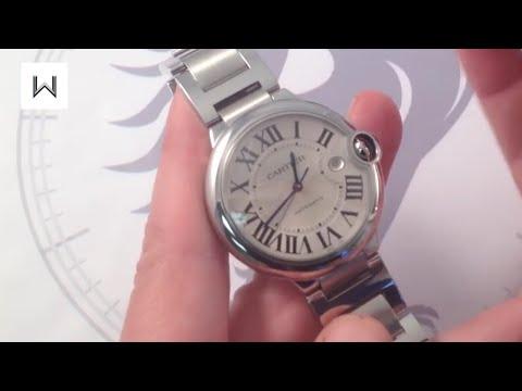 Cartier Ballon Bleu Automatic Luxury Watch Reviews