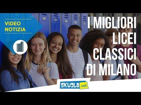La classifica dei migliori licei classici di Milano