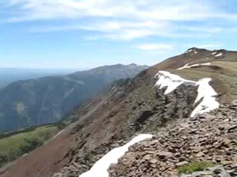 Panorama From Chief Joseph Mountain