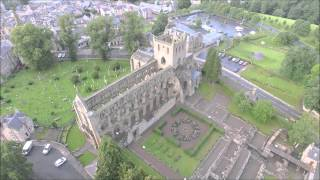 Jedburgh Abbey from a different angle