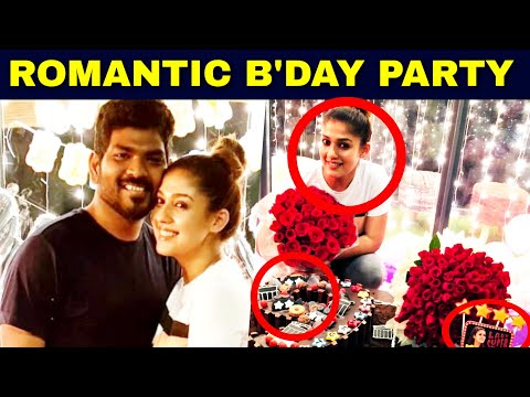 Vignesh Shivan's Cute Surprise GIFT for Nayanthara | HBD Nayanthara | Hot Tamil Cinema News thumbnail