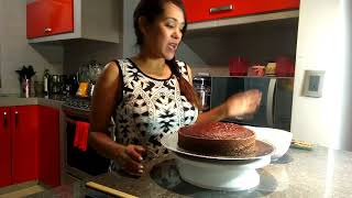 PASTEL ALEMAN CON CHOCOLATE PASO A PASO Gina Cakes