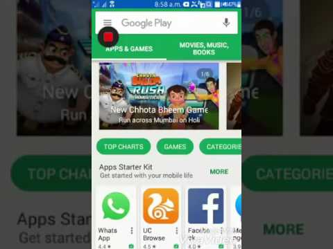 play store app download samsung z2