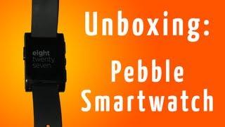 Unboxing & Setup: Pebble Smartwatch