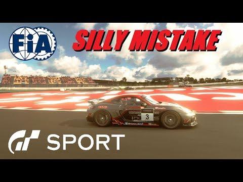 GT Sport Silly Mistake - FIA Manufacturer Round 8 GR.4 Catalunya