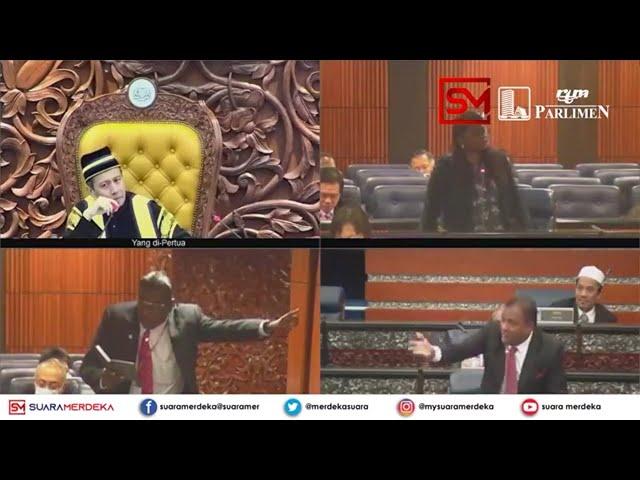 'Gelap' gamatkan sidang Dewan Rakyat