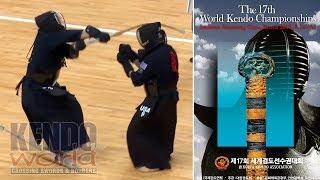 Men's Team 2R: USA vs. Japan - 17th World Kendo Championships (2018)