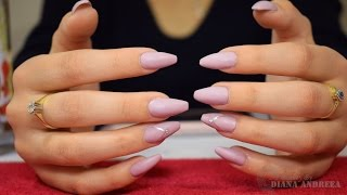 How To: Purple Gel Nails Design | BeautybyDianaAndreea