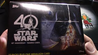 Star Wars 40th Anniversary Trading Cards!