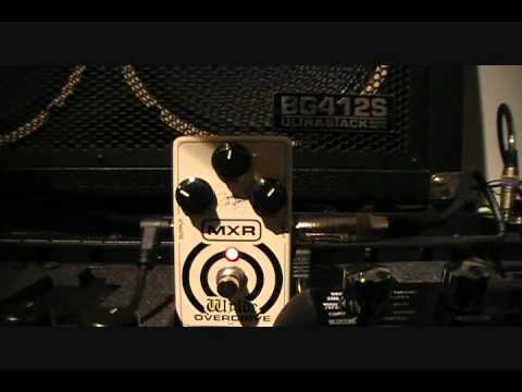 MXR ZW-44 Overdrive Pedal