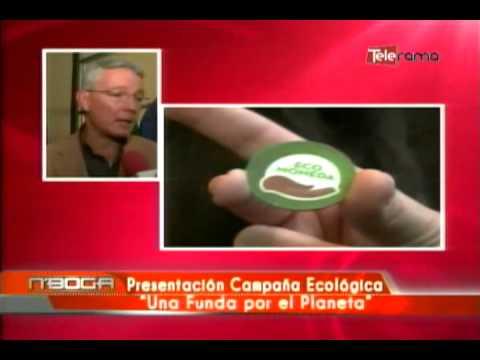 Presentación campaña ecológica Una Funda por el Planeta