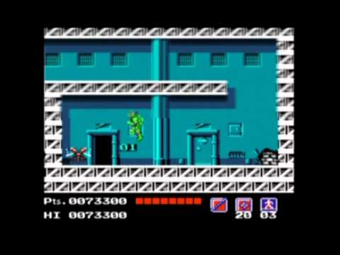 Teenage Mutant Ninja Turtles - NES - Speed Run - NO CHEATS - NO DEATHS