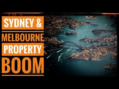 Sydney And Melbourne Property Booms