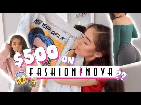 $500 ON FASHIONNOVA?! | TRY ON HAUL