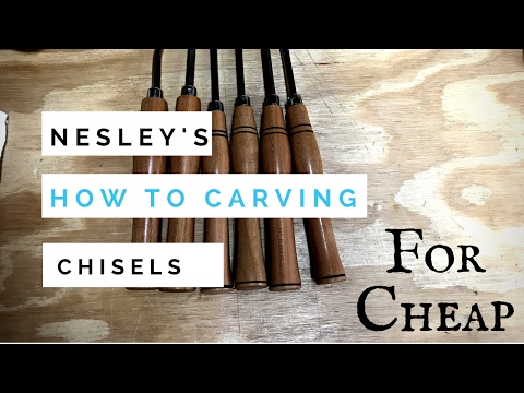 How To Carving Chisels for Cheap