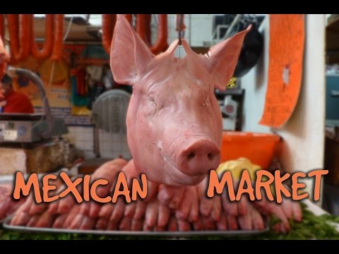 TASTING MEXICAN FOOD / Market in Mexico City / VLOG #48