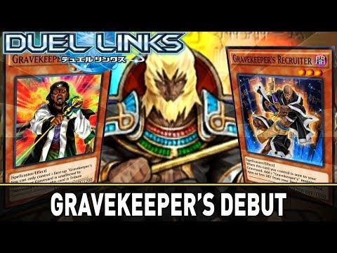 Playing In Graveyards - Gravekeeper's Debut!   YuGiOh Duel Links Mobile PVP w/ ShadyPenguinn