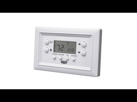 how to program carrier thermostat conditioned air youtube rh youtube com