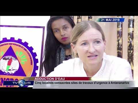 JOURNAL DU 21 MAI 2019 BY TVPLUS MADAGASCAR