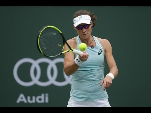 2018 Indian Wells First Round | Samantha Stosur vs. Lauren Davis | WTA Highlights