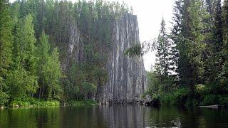 Река Ивдель  Северный Урал  Июль 2016