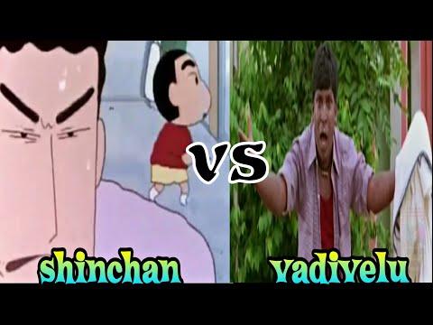 Shinchan Amaithi Amaithi   tamil episode VS Legend vadivelu