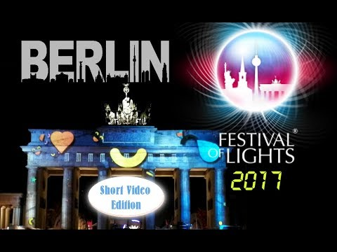 Festival of Lights 2017 & Berlin Leuchtet – BEAM ME UP (Short Video Edition) (inkl. Dörteprojektion)