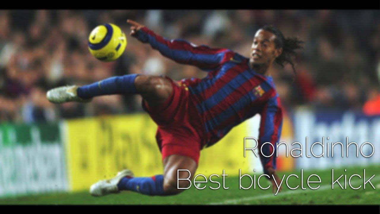 Ronaldinho Bicycle Kick Ronaldinho best bicycle kick