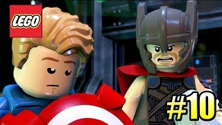 LEGO Marvel Super Heroes 2 PС прохождение часть 10 ДОРОГА К АСГАРДУ