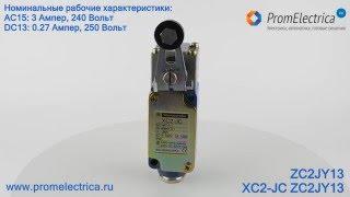 XC2-JC ZC2JY13 Концевой выключатель c рычагом со стальным роликом в сборе Schneider Electric(, 2016-01-28T13:40:48.000Z)