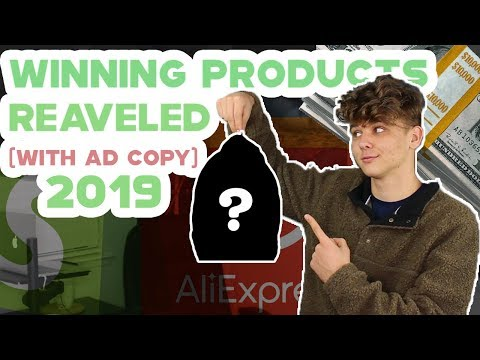 MAKE MONEY DROP SHIPPING THESE WINNING PRODUCTS ONLINE 2019 (Revealing Shopify Ad Copies)