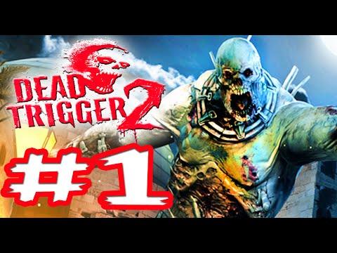 Dead Trigger 2: Parte 1 - ¡EL ATAQUE ZOMBIE! - Gameplay / Lets Play / iOS.