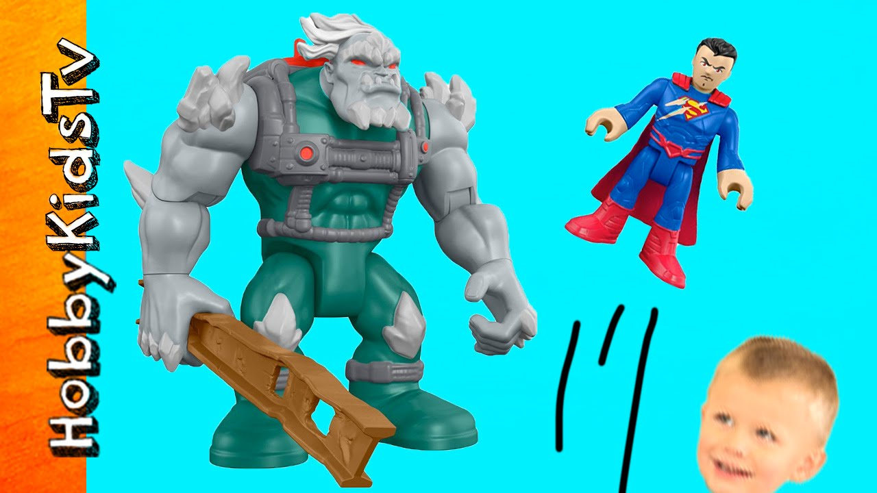 Doomsday Vs Superman Imaginext Toy Review Fisher Price Play W