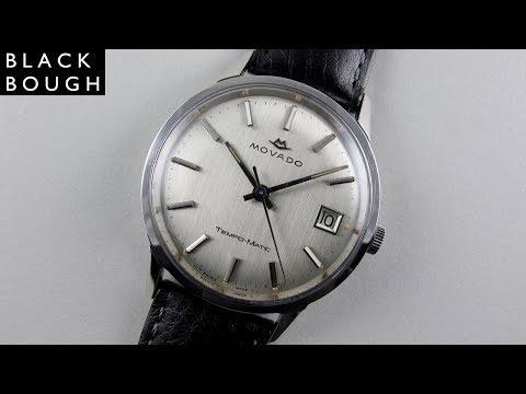 Movado Tempo-Matic 'Sub Sea' Ref: 2785 vintage wristwatch, circa 1965