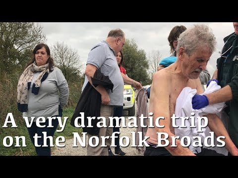 Drama on the Norfolk Broads