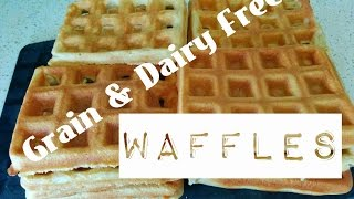 Food Much? Episode 4 - Grain & Dairy Free Waffles