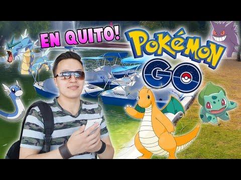 Pokémon Go en Quito Ecuador / Gran Estreno Oficial en América Latina!