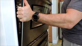 How To: Remove and Reinstall Oven Door: Easy