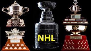 All NHL Trophies 2017 (National Hockey League)