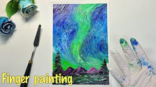 Finger painting   How to draw …