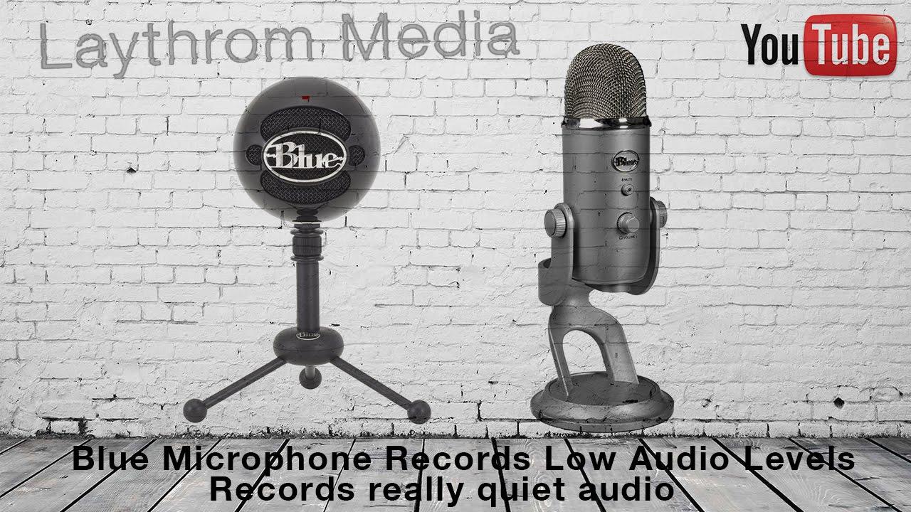 Usb Microphone Low Volume : blue usb microphone low recording volume recording very quiet fix youtube ~ Russianpoet.info Haus und Dekorationen