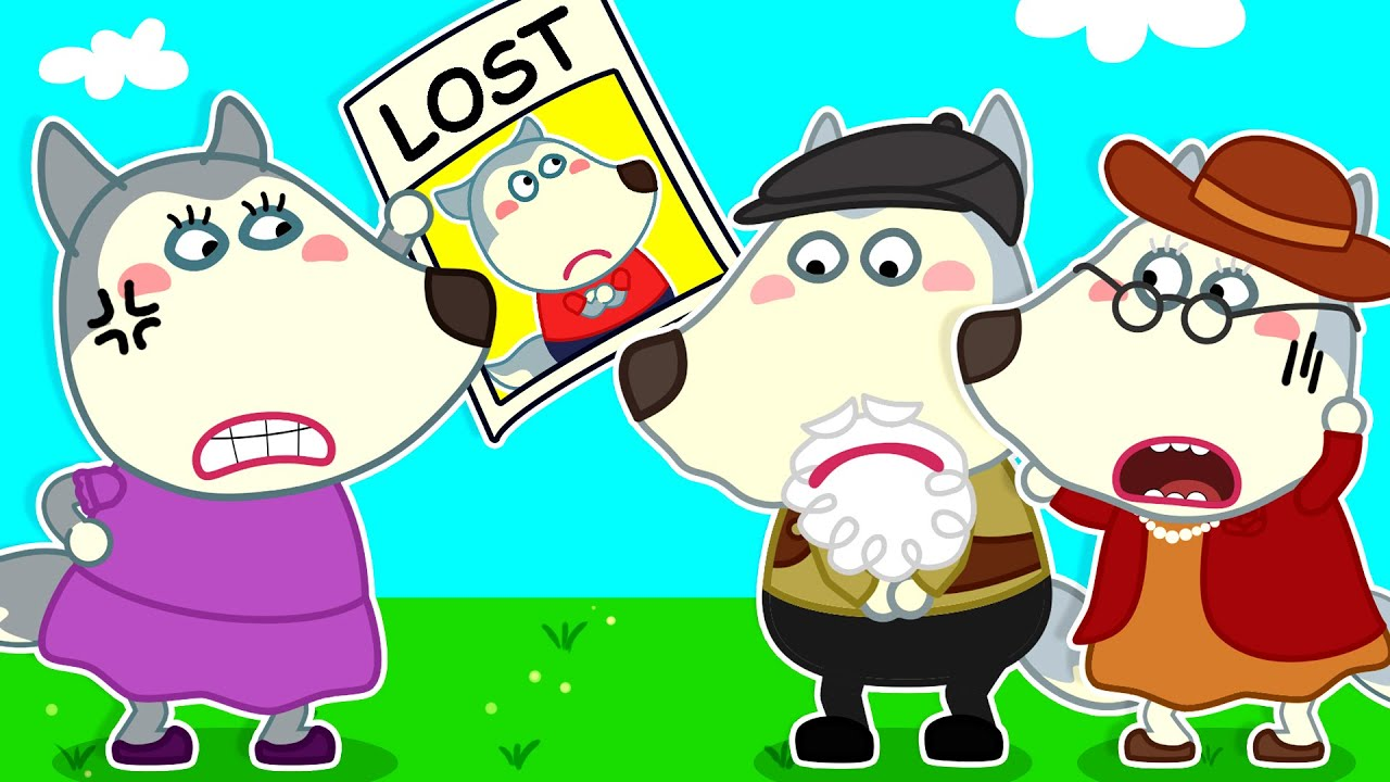 Download Mommy! Don't Be Angry with Grandpa When Wolfoo Gets Lost - Good Behavior for Kids   Wolfoo Channel