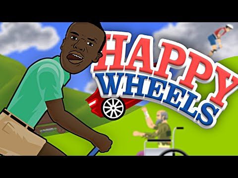 Thumbnail: KSIOlajidebt Plays | MORE HAPPY WHEELS!!!