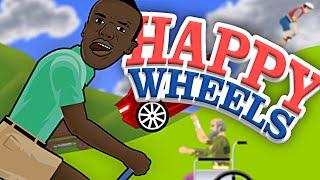 KSIOlajidebt Plays | MORE HAPPY WHEELS!!!