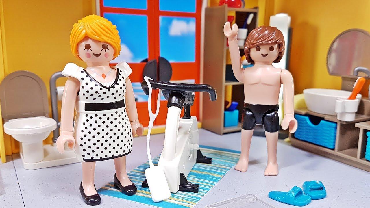 PLAYMOBIL neues Badezimmer (9268) 🛀 für Playmobil modernes Wohnhaus ⭐️  Spielzeug Stars