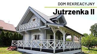 Jutrzenka II - Domek drewniany skandynawski rekreacyjny - Domki szkieletowe całoroczne