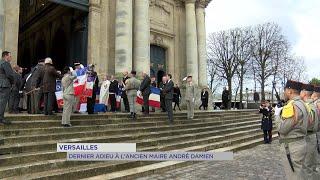 Yvelines | Dernier adieu à l'ancien maire de Versailles, André Damien