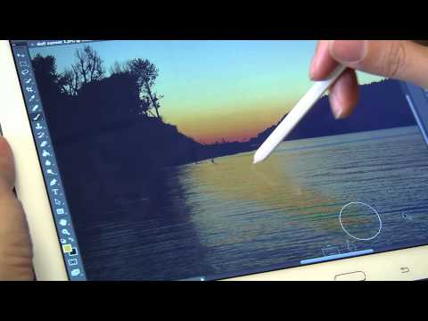 Air Stylus for Galaxy Note: a wireless graphics tablet