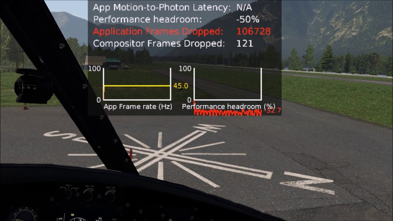Oculus Tray Tool super sampling for X-Plane 11 Native VR